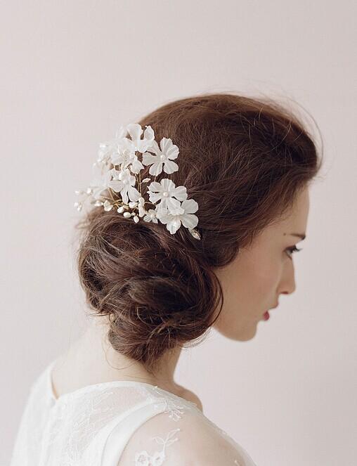 婚礼猫推荐9款新娘小清新发饰