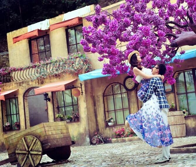 80后新人首选风格 韩式婚纱摄影 婚礼猫