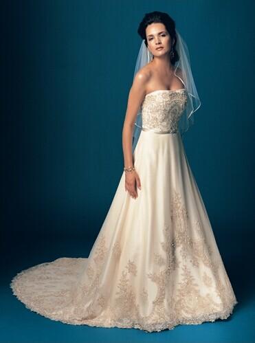 婚宴网教你怎么选合适自己的婚纱礼服