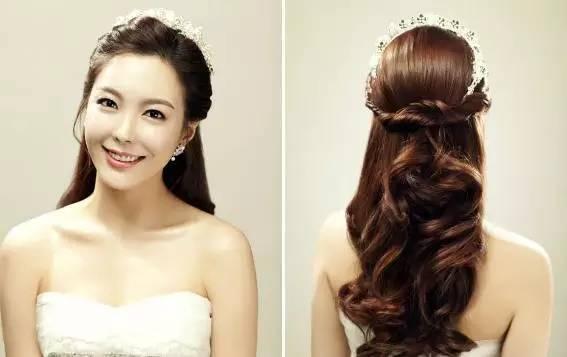 婚礼最美八款发型 我不再将就其他盘发啦