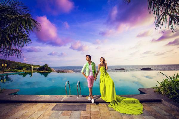 去三亚拍婚纱照如何选择拍摄景点?