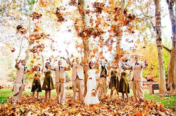 婚礼猫带你瞧瞧最适合秋季婚礼的主题元素