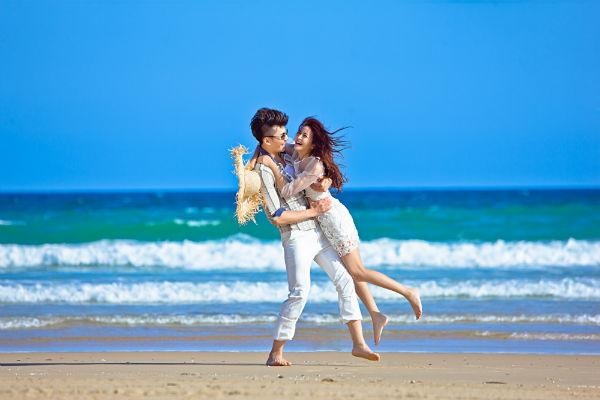 三亚婚纱摄影之拍海景婚纱照注意事项