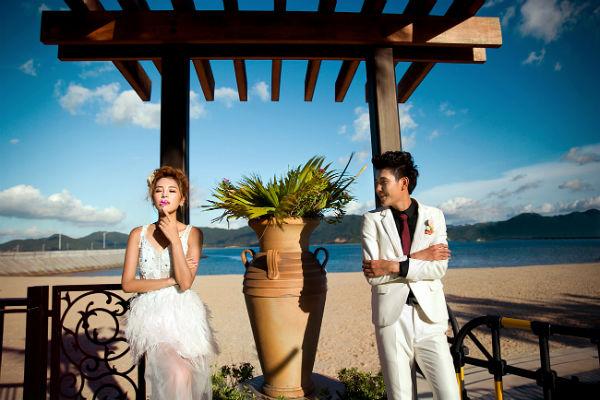 三亚婚纱摄影,你刚好美成我喜欢的样子!