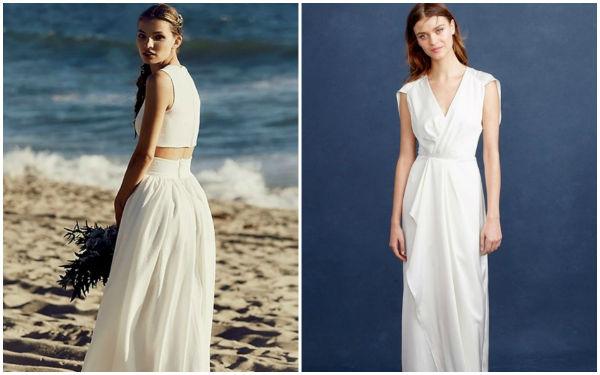 夏季海滩婚礼,你还缺一件高贵优雅的婚纱!