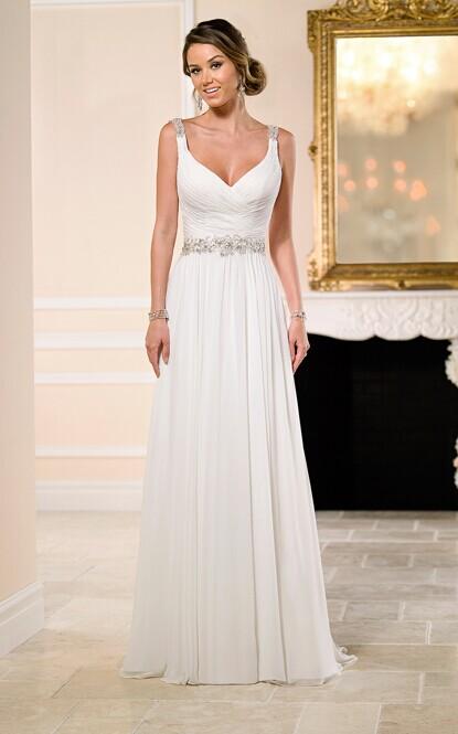 完美婚纱穿搭攻略 肥妹子显瘦技巧