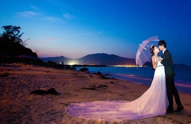 新娘户外婚纱照贴士 结婚攻略