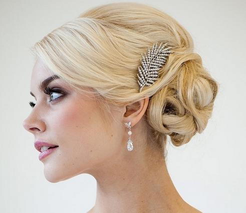 新娘创意头饰之发夹
