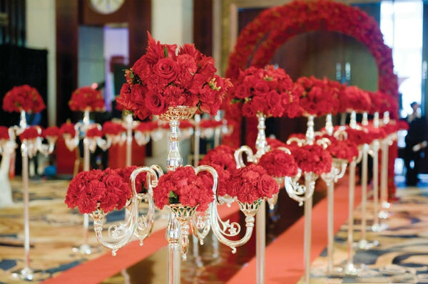 不同主题色的时尚婚礼,你最爱哪一种?