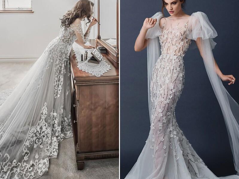 冬季婚礼婚纱流行色推荐,穿出自己的灿烂!