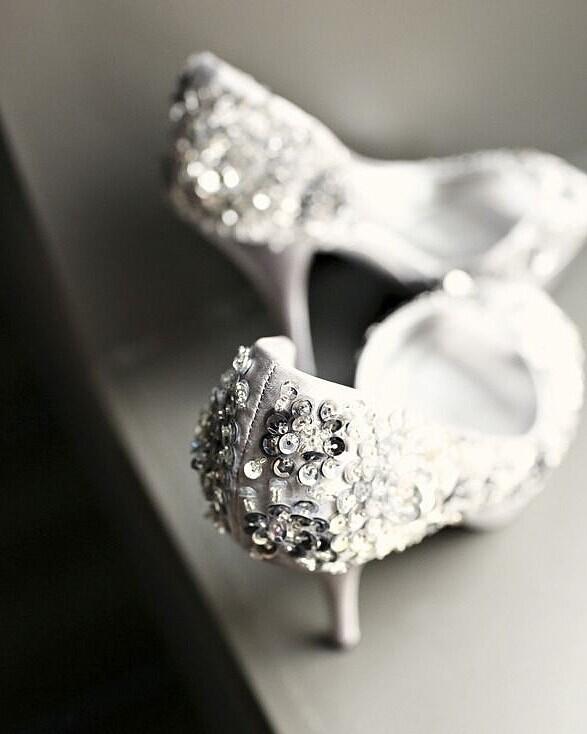 Blingbling的银色主题婚礼 完美婚礼主题