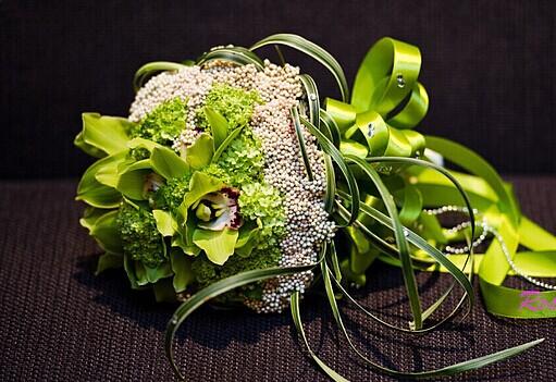令人心动不已的手捧花 独特的新娘手捧花