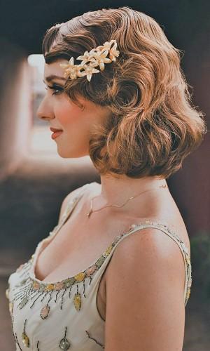 看完这些短发新娘的造型,你会不会也想任性地剪掉长发