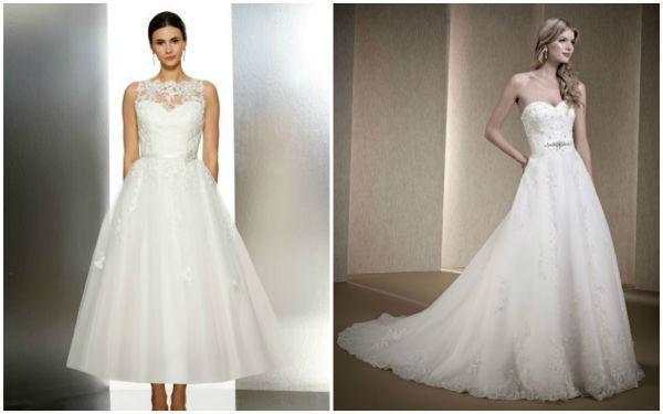 来瞧瞧便宜却优雅时尚的婚纱礼服