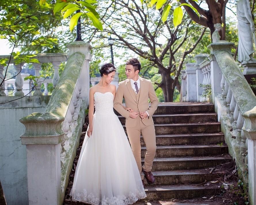 学会这几招 微胖新娘也可以告别PS拍出娇美婚纱照