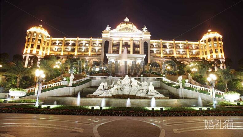 婚宴形式 婚宴酒店 西餐场地 广州恒大酒店