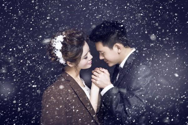 冬天拍外景婚纱照注意事项有什么?