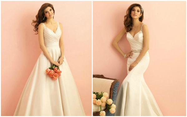 甜美的婚纱,有公主梦新娘的最爱!