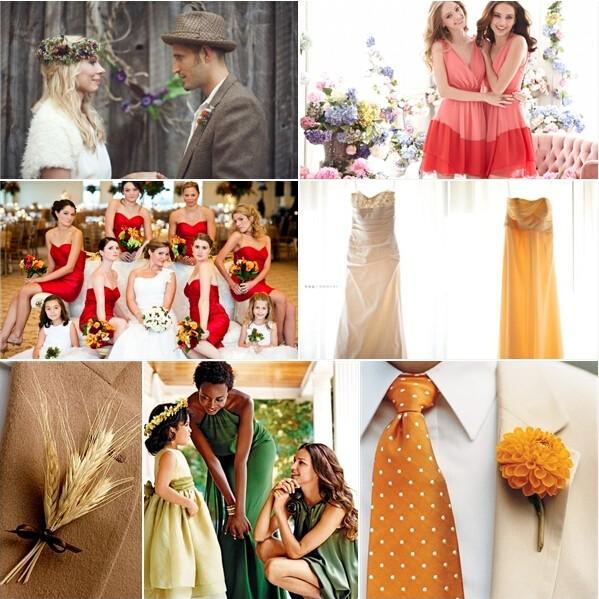 秋季婚礼设计灵感