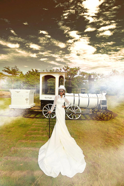 三亚水下婚纱摄影注意事项,掌握以后可以拍出精美的画面