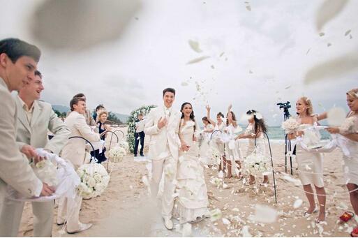 这些创意的婚礼入场方式,炫翻众人!