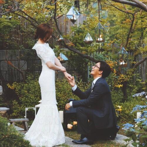 男神眼镜王子裴勇俊完婚 新娘子是朴秀珍 婚礼猫