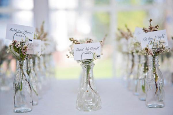 一起来瞄一瞄在婚礼上花的创意用处