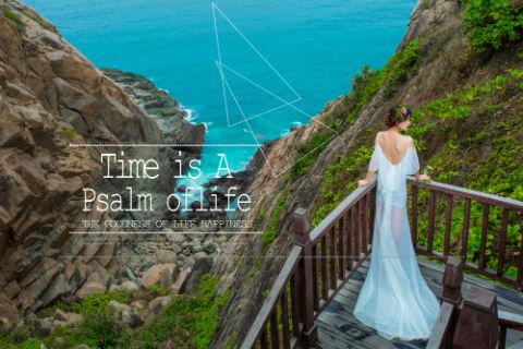 三亚婚纱摄影,你以为美的只有风景?