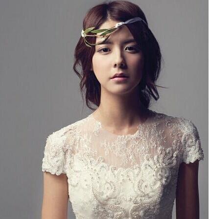 最新韩国范的新娘发型 结婚当天美丽亮相