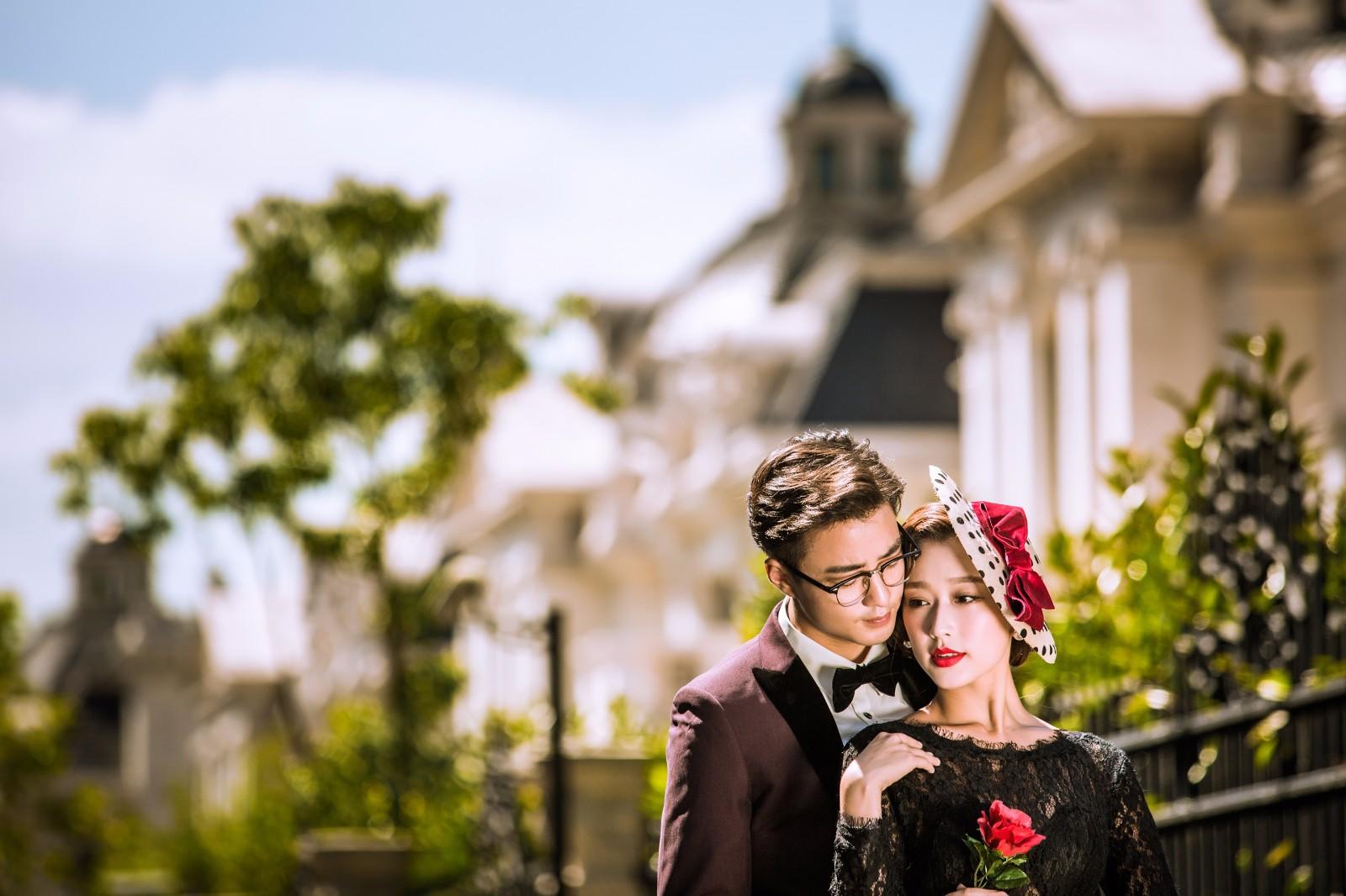 几月份拍婚纱照最好,当然是美好的春夏季