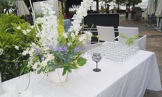户外婚礼不同场面的解决方法