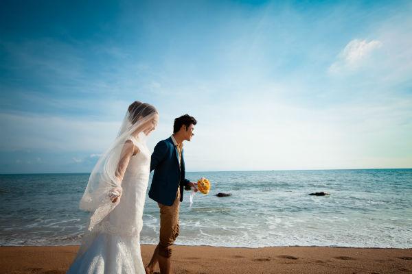 三亚婚纱摄影,新娘心中的憧憬
