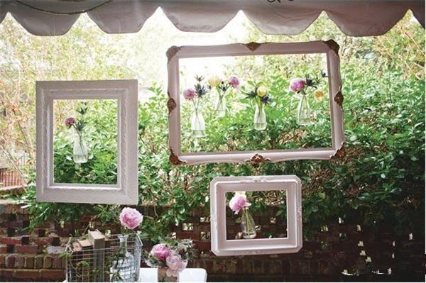 创意婚礼布置,将你的装饰品悬挂起来吧!
