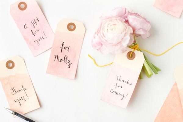 想让你的婚礼印象深刻?从DIY婚礼标签开始