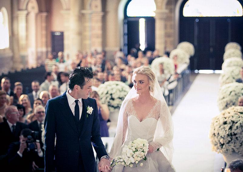 最常见的西式婚礼流程