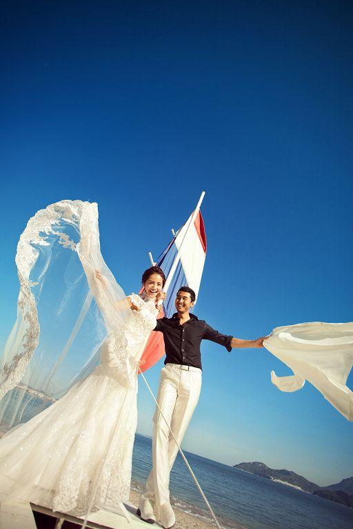 上海婚纱摄影工作室怎么选,学到这几点你就成功了