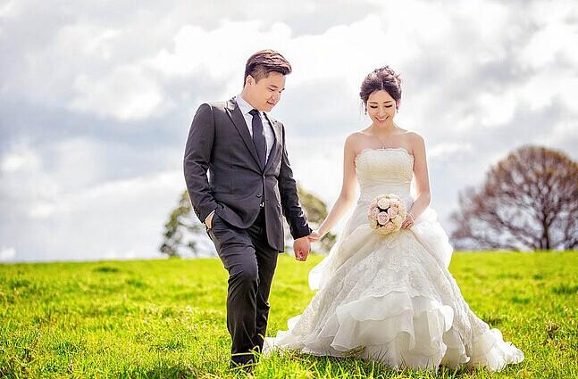 拍婚纱照要避免的糖衣炮弹