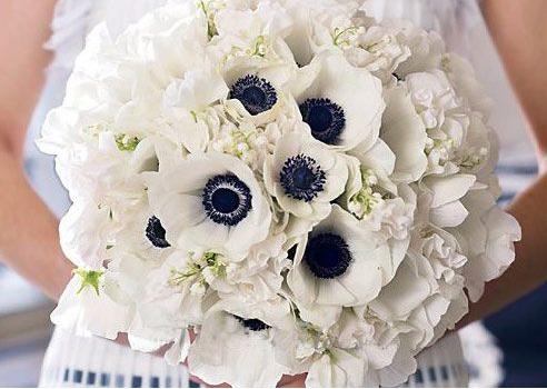 银莲花婚礼主题 清新花香感受幸福甜蜜