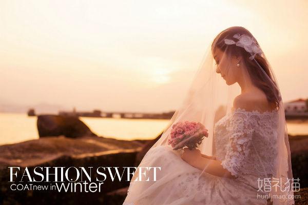 拍摄厦门婚纱照新娘如何挑选最适合的手捧花