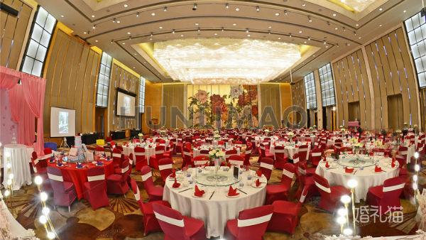 广州婚宴酒店哪家好?推荐白云万达希尔顿酒店
