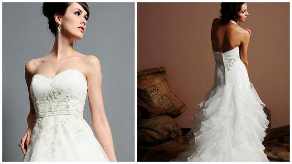 来看看做工精细的婚纱礼服究竟长啥样