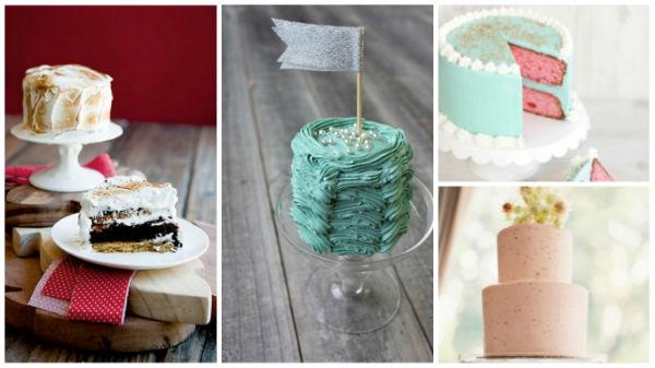 迷你型结婚蛋糕就该长这样!