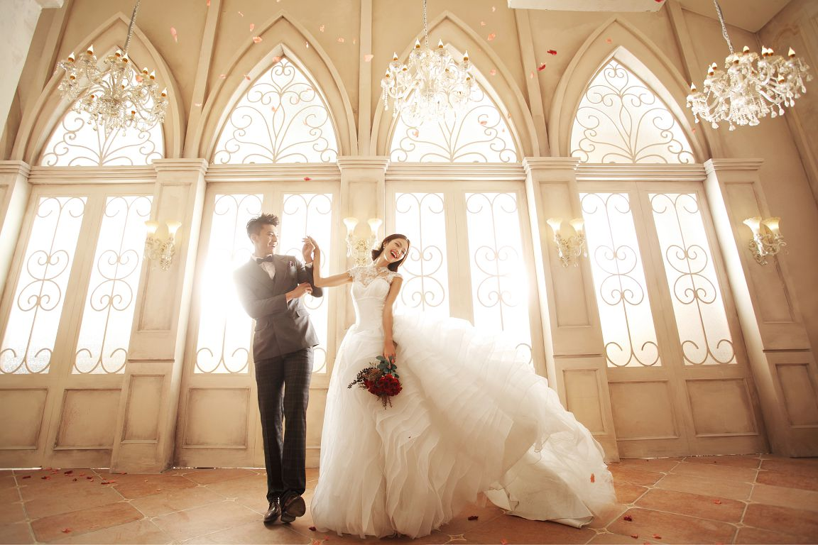 哈尔滨婚纱照风格,最吸引人的婚纱照