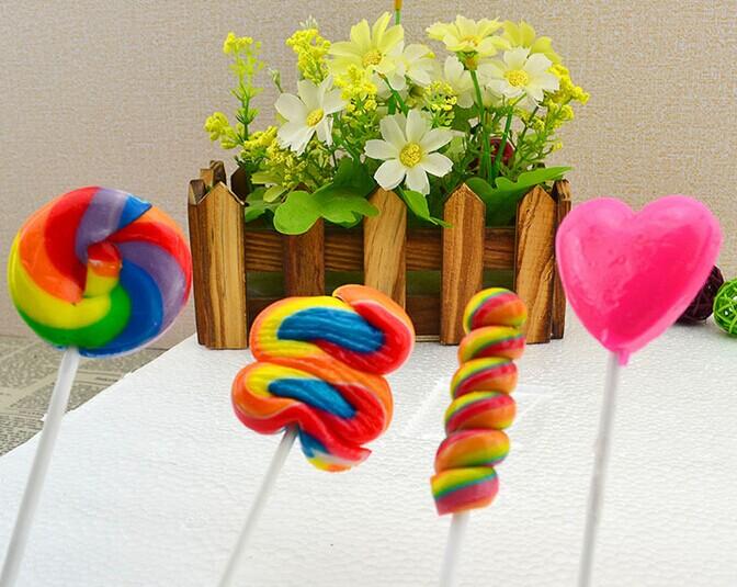 七彩棒棒糖主题婚礼 甜蜜无处不在 婚礼猫