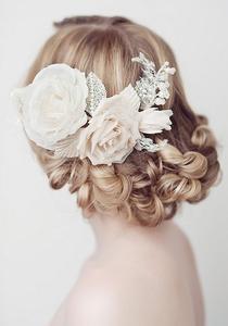 户外婚礼好创意:三款新娘发型来助阵