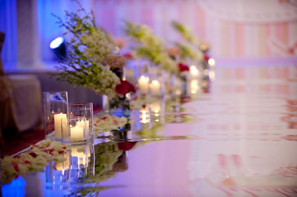 浪漫烛光婚礼布置技巧 全力打造浪漫婚礼 婚礼猫