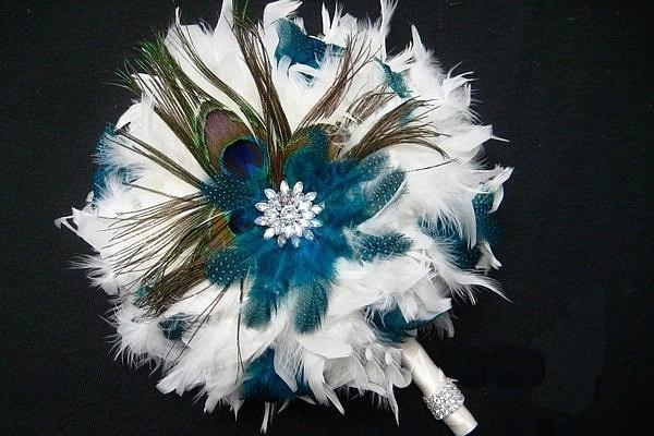 创意婚礼:婚礼上用这样的捧花,绝对有个性!