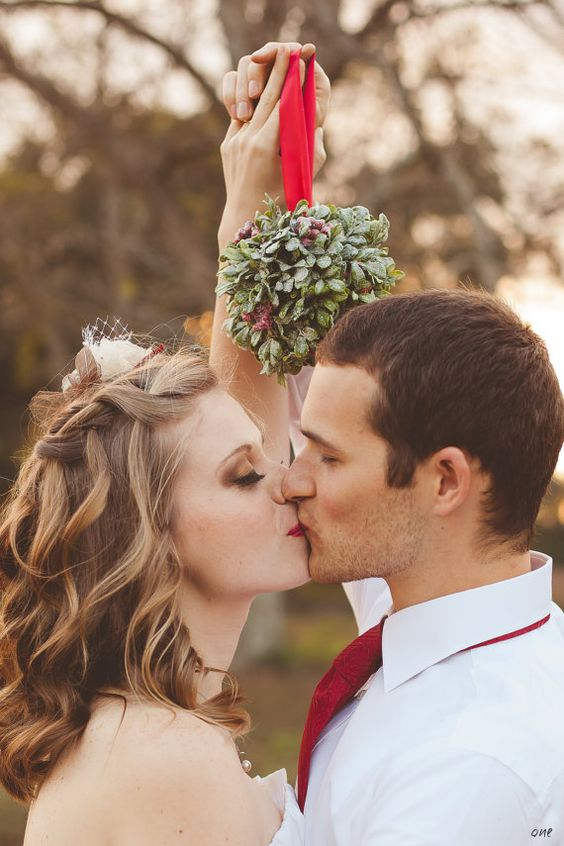当婚礼碰上圣诞节,会擦出什么样的火花