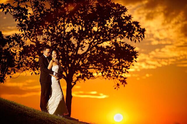 拍婚纱照前新人必要学习的技能