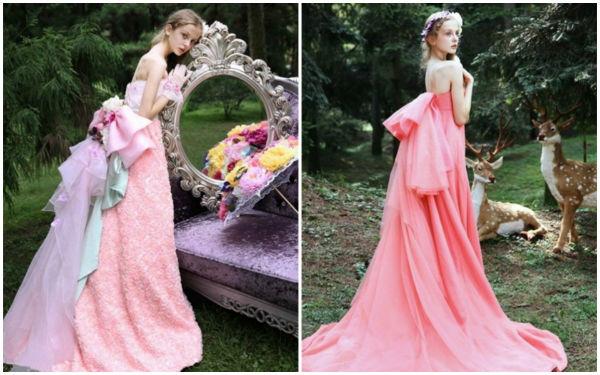 仙、甜、美的婚纱礼服,你值得拥有!